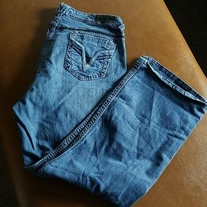 Vigoss size 24 distressed jeans